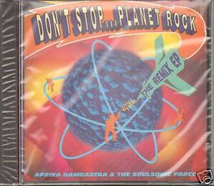 AFRIKA BAMBAATAA SOULSONIC FORCE 7 REMIX NEW SEALD CD