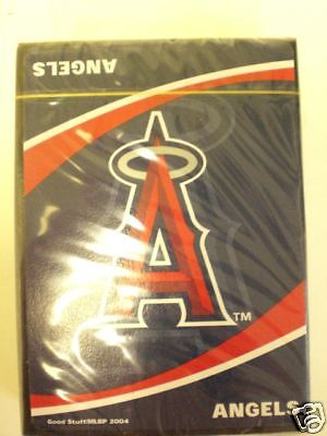 Anaheim Angels Licensed Team Playing Cards