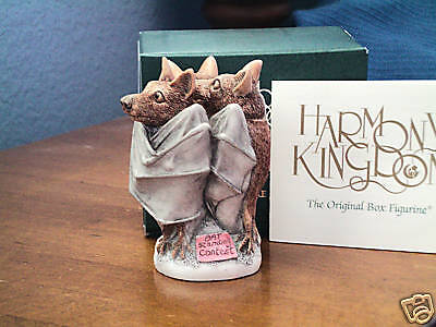 Harmony Kingdom FrightFest Halloween Bats Event Pc Marble Resin UK Made NIB