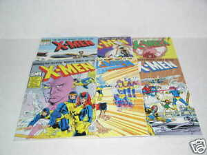 Marvel-Comics-X-Men-Index-1-6-1987-Mint