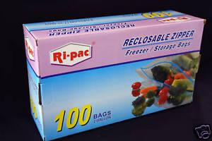 100-13x16-Zip-Reclosable-Freezer-Storage-2-Gallon-Bags