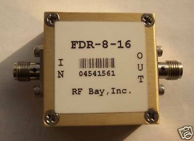 Frequency Doubler 4.0-8.0GHz Input, FDR-8-16, New, SMA
