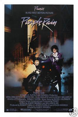 Rock: Prince * Purple Rain * USA Movie Poster release in 1984