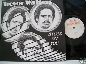 12-Vinyl-Single-Stuck-On-You-by-Trevor-Walters-1983