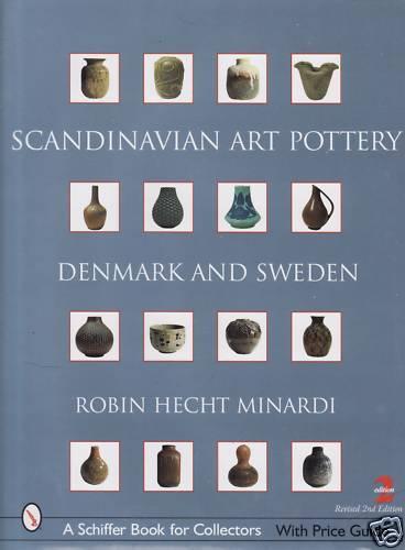 Fachbuch Scandinavian Art Pottery aus Dänemark und Schweden, SEHR GUT, Neu