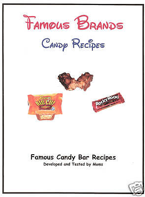 Famous Candy Bar Cookbook Recipes Chocolate Authentic