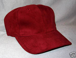 American Needle blank Cap Red Kappe
