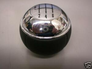 MINI-Cooper-S-6-Speed-Shift-Knob-Leather-Chrome-04-Up