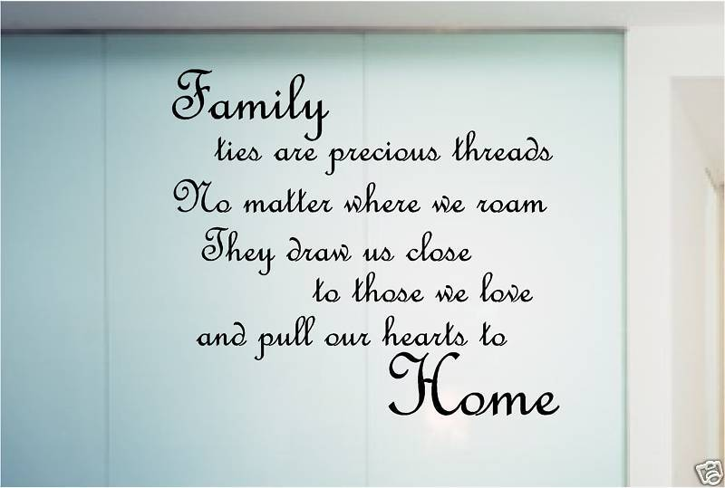Family Poems And Quotes Love Quotesgram