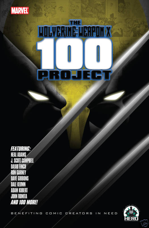 Wolverine 100 Project Limited Edition Hardcover