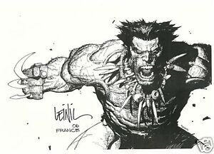 LEINIL YU WOLVERINE LIMITED FRENCH PRINT EXCLUSIVE 50