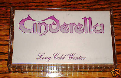 CINDERELLA LONG COLD WINTER CASSETTE