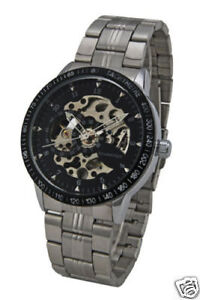 Automatic Schaffer skeleton Sports Design Horloge!!!