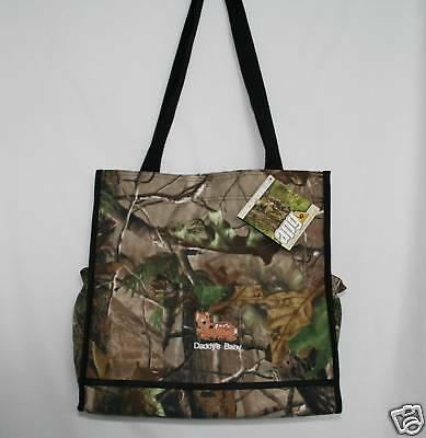 Realtree Apg Camo Camouflage Embroidered Diaper Bag