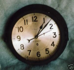 Chelsea-1966-8-Inch-U-S-Navy-Ships-Clock-A-Find