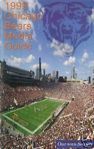 1999-CHICAGO-BEARS-NFL-FOOTBALL-MEDIA-GUIDE