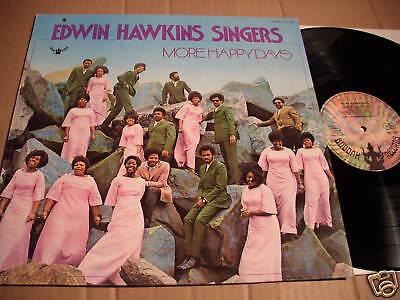 EDWIN HAWKINS SINGERS - MORE HAPPY DAYS - LP BUDDAH