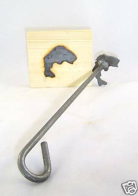 Bass Branding Iron Steak Wood Craft Branding Iron