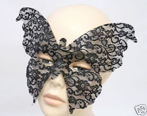 MASQUERADE Venetian Mask Naomi Butterfly Lace Mask NEW