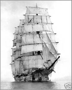 Poster-Print-Steel-Tall-Ship-4-Masted-Hougomont-1920-18-034-x-24-034