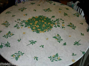 Padded Tablecloth Ebay