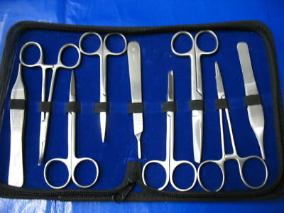 9 Pc O.r Grade Us Military Minor Surgery Suture Set Kit
