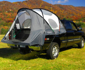 camp right full size standard bed truck tent 6 5 39 bed ebay. Black Bedroom Furniture Sets. Home Design Ideas