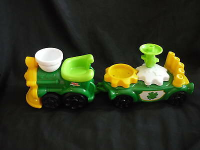 Fisher Price Little People St Patricks Parade Train