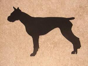 BOXER PET DOG MEMORIAL LAWN GARDEN STAKE YARD DECOR K9