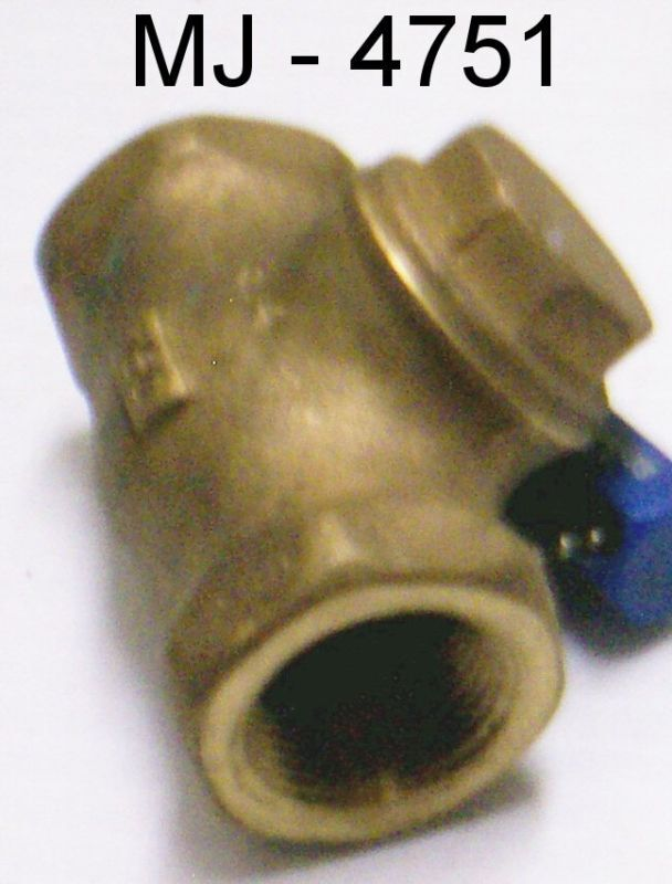"Milwaukee Valve - Threaded Bronze 3/4"" Check Valve (NOS)"
