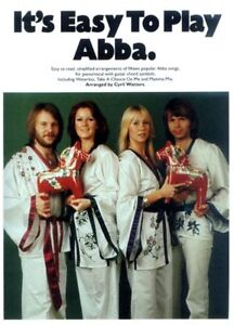 It's Easy to Play ... ABBA Noten Klavier leicht