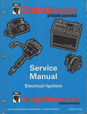 1994 Omc Cobra Stern Drive Electrical/ignition Service