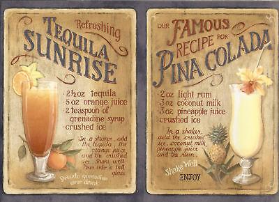 Cocktail,margarita,tequila Recipe Wallpaper Border Wall