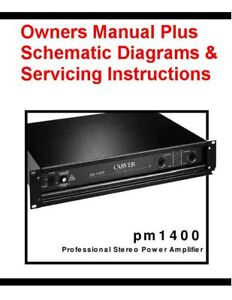 CARVER-PM-1400-OWNERS-SERVICING-INSTRUCTIONS-ON-A-CD