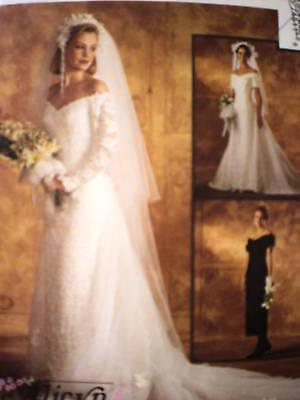 7451 uncut vintage mccalls sewing pattern wedding bridal for Sell vintage wedding dress