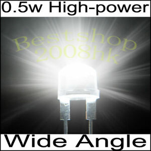 20-pcs-0-5W-8mm-StrawHat-white-LED-light-lamp-110KMCD