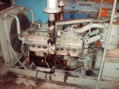 350 Kw Delco Detroit Diesel Generator Set V 16 950 Hp Ebay