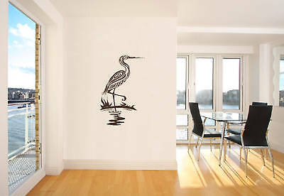 Flamingo-Bird-Wall-Sticker-Decal-Art-Transfer-Graphic-Stencil-Vinyl-Home-UK-Bi23