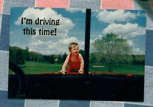 50-Postcards-Little-Lee-Comic-Trucking-Im-driving-this