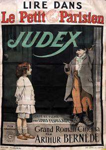 Georges-Franjus-Judex-vintage-French-movie-poster