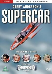 Gerry Andersons SUPERCAR Complete Series DVD NEW SEALED