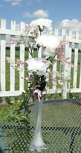 Keepsake-Baby-amp-Bridal-Shower-Party-Reception-Carnation-Bud-Vase-Arrangements