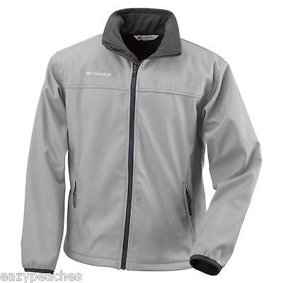 Columbia-Sports-Soft-Shell-Jacket-Coat-MEDIUM-XL-XXL-BLACK-BEET-RED