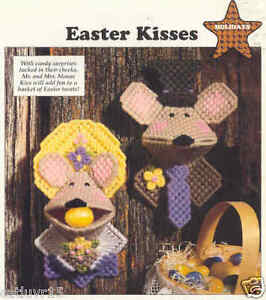 Easter Kisses ~ plastic canvas pattern ~ Hershey Kiss Holders Pattern ...