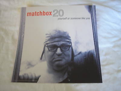 MATCHBOX 20 Yourself Or Someone Like  You Tour  Poster  Authentic From 1996