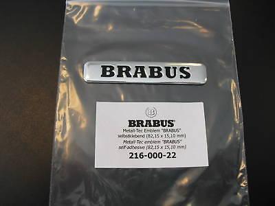 BRABUS Schriftzug Metall-Tec Emblem Heckdeckel  NEU