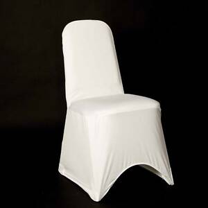 50-WHITE-SPANDEX-CHAIR-COVERS-BRAND-NEW-UK-SELLER