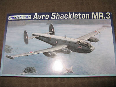 JOB LOT (6 KITS)_MODELCRAFT 1/72 SCALE AVRO SHACKLETON MR.3 MODEL KIT on Rummage