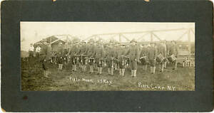 NY Pine Camp (Fort Drum) 23rd Regt Band Photo