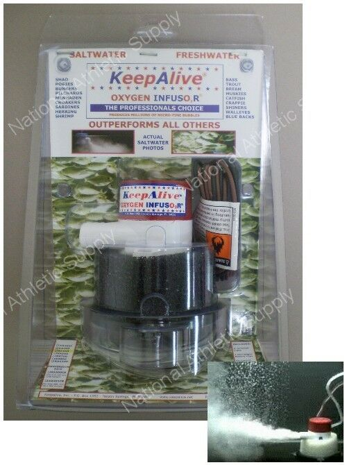 Keep Alive Fishing Bait Tank Aerator Model Ka500